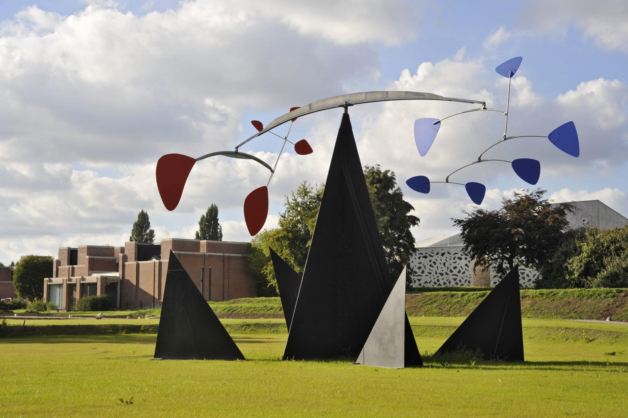 Lille Métropole musée d' art moderne, d'art contemporain et d' art brut.Architecte Manuelle Gautrand