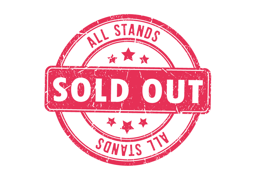 All stands sold out