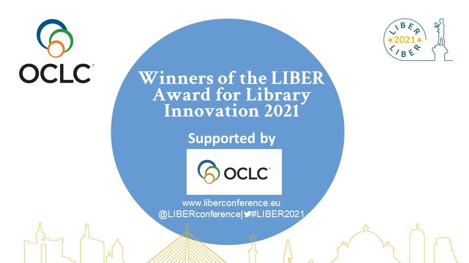 LIBER 2021 Online: LIBER Award for Library Innovation Winners